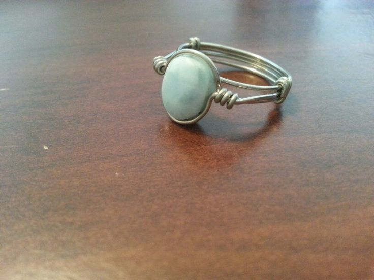Joelle's ring- the stone is from DR