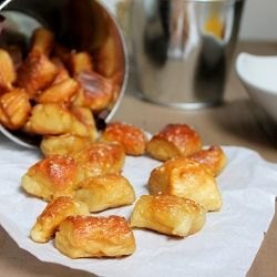 Soft Pretzel Bites, dip them in mustard or sauce of choice for the perfect game day treat!