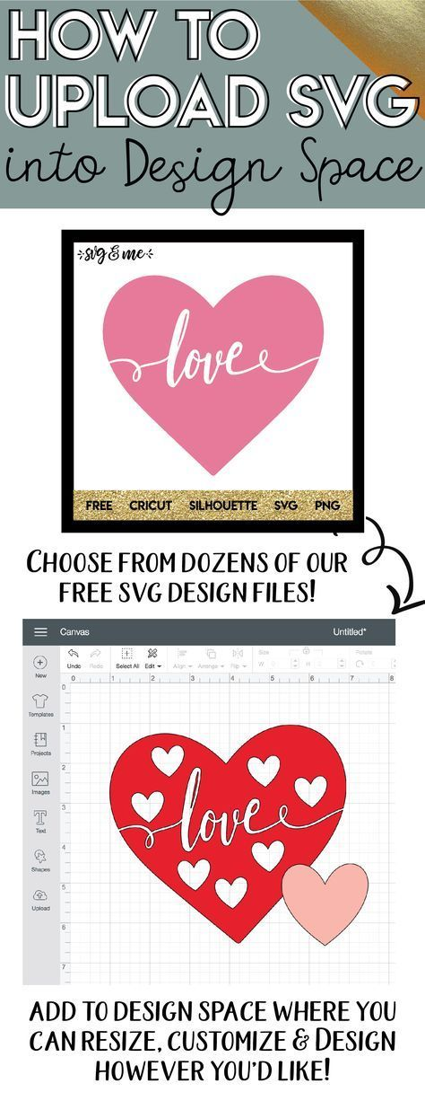 how to upload an svg into design space