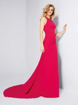 Comprar vestido de gala largo rojo | Galan | Pronovias