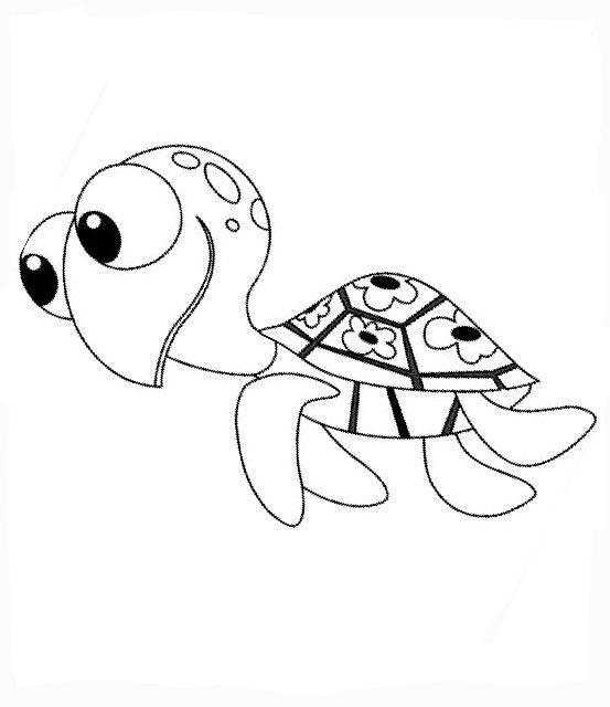 Disegni da colorare per bambini colorare e stampa alla for Nemo disegni da colorare