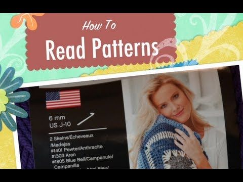 Crochet Patterns Lessons : Read Crochet Patterns: Lesson 1 Crochet Pinterest
