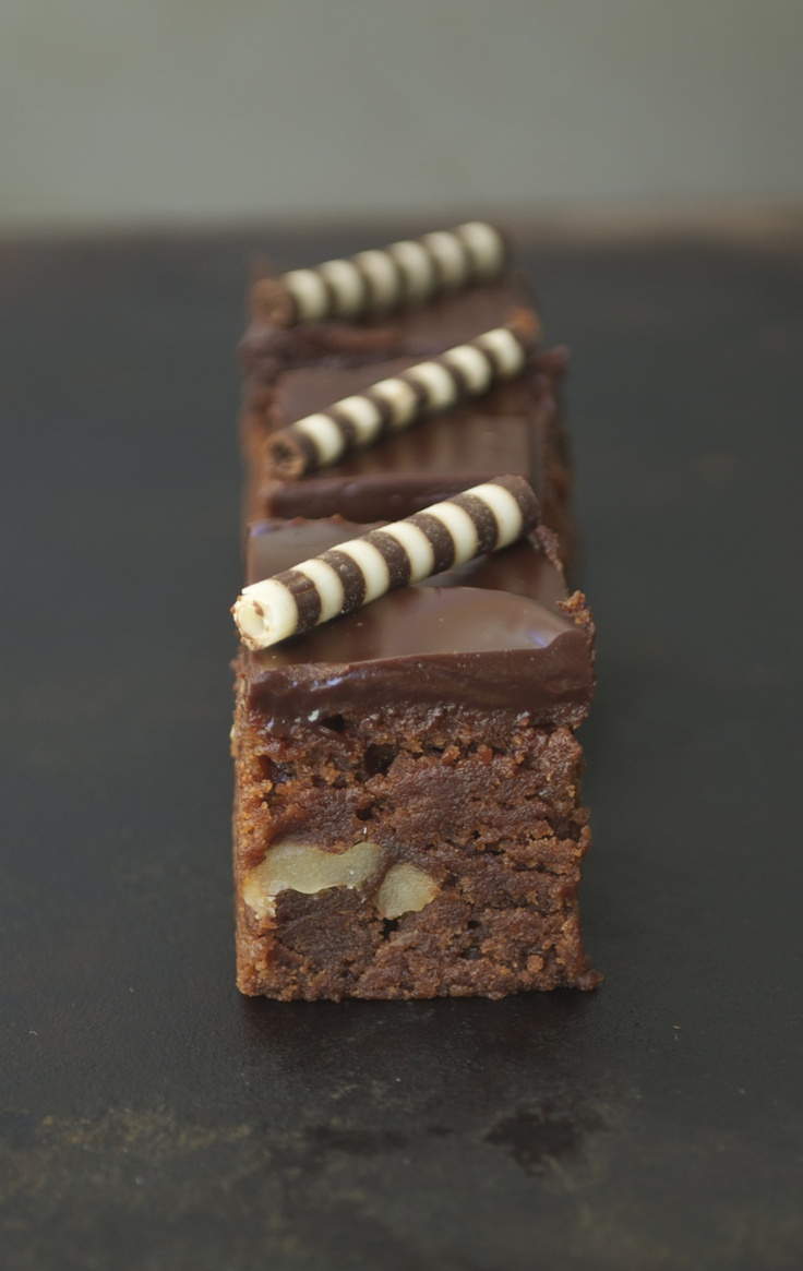Chocolate Truffle Brownies | sweets | Pinterest