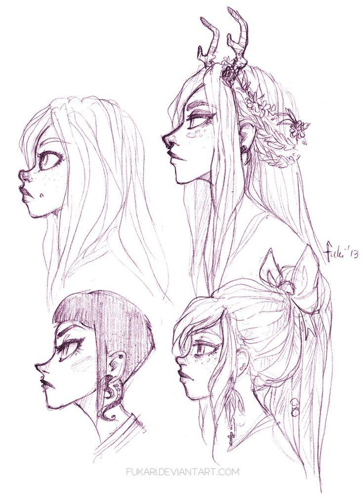 doodles - chelle fukari deviantart