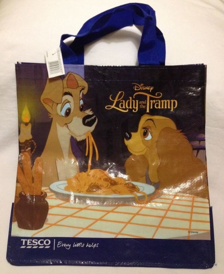The 25 best tesco gifts ideas on pinterest walmart employment lady and the tramp tote bag disney tesco 2014 dog classic spaghetti pup eco gift negle Gallery