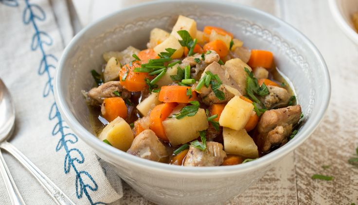Harvest Chicken Stew from our blog -- This sweet-savory stew tastes amazing! The whole family will love it. Great for make-ahead or freeze-ahead lunches on Phase 1.