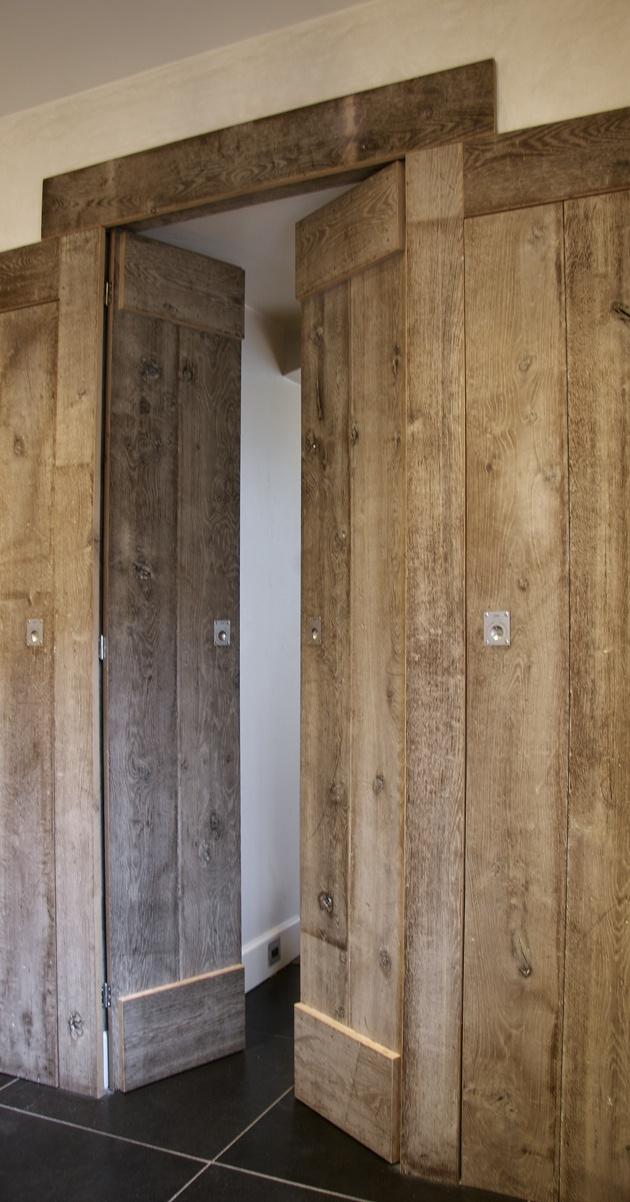 deur oud hout jan van ijken oude bouwmaterialen: 2.000-3.000 deuren op voorraad