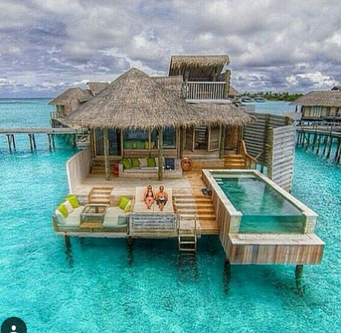 Wooden House, Tes, Style, Beach, Luxury Life, Twitter, Bungalow, Pools,  Homes