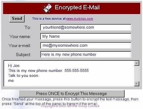 Free Encrypted Email Service At #encrypted #email #accounts, #free #encrypted #email #e-mail #encryption #decryption #encoding #secret #password #hacking #sniffers #packet #encrypted #email http://rwanda.nef2.com/free-encrypted-email-service-at-encrypted-email-accounts-free-encrypted-email-e-mail-encryption-decryption-encoding-secret-password-hacking-sniffers-packet-encrypted-email/  Free Encrypted Email Service � Copyright 2003 – MPRM Group – mobrien.com Why Should I Use Encrypted Email…