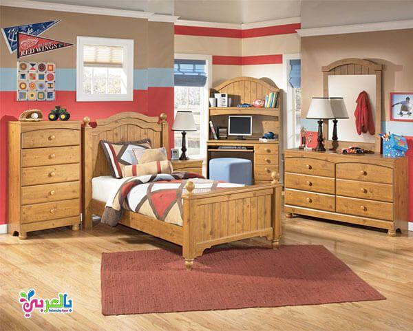 اجمل موديلات غرف نوم اطفال لون بني و عسلي و بيج بالعربي نتعلم In 2020 Toddler Bedroom Sets Kids Bedroom Furniture Sets Kids Bedroom Sets
