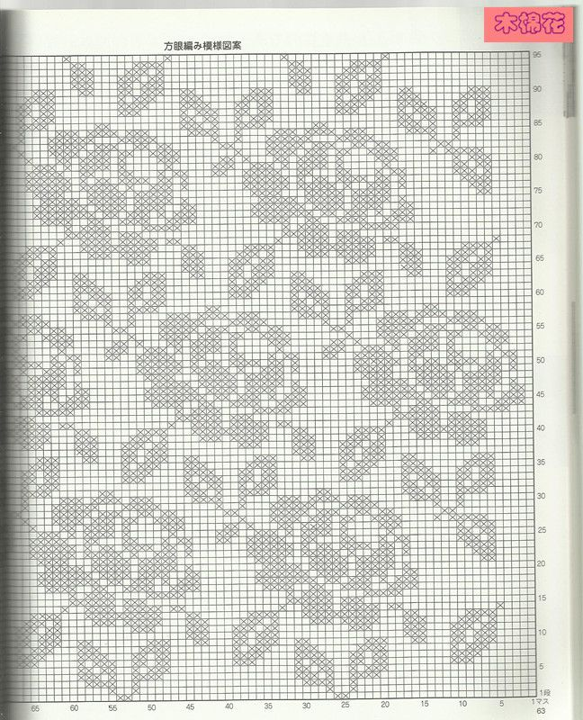 filet crochet  Szydełkomania: Poduszki
