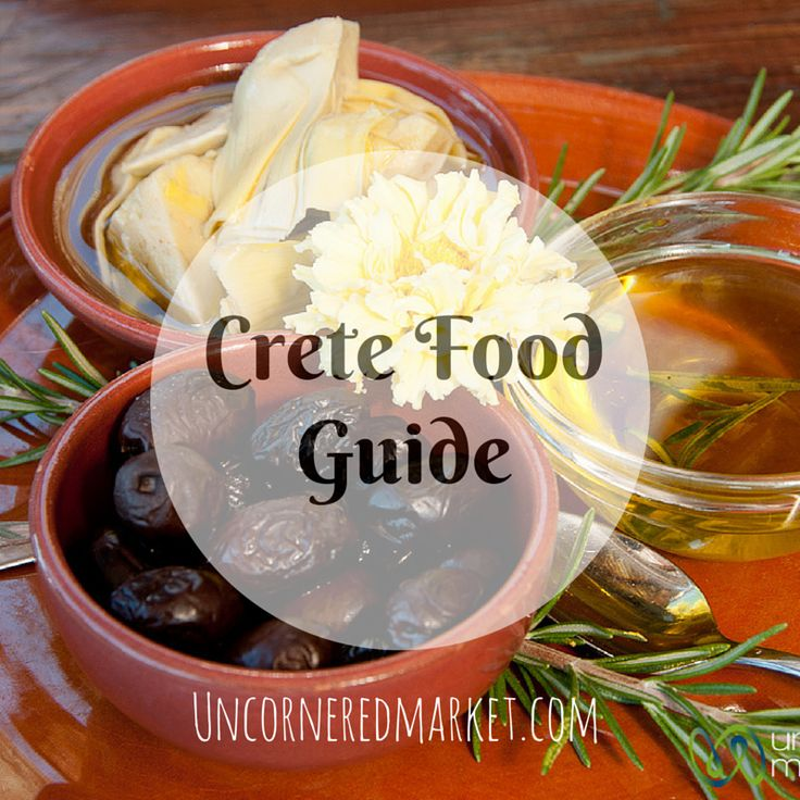 The Creten diet is known as being one of the healthiest in the world. This is an overview of Creten ingredients, main dishes, desserts and more. http://uncorneredmarket.com/crete-food/