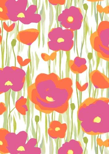 Poppy Fabric: Design Inspiration, Poppies Fabrics Nic, Floral Patterns, Fabrics Tela, Art, Id Patterns Prints Texture, Doodles Patterns, Fabrics Design, Contemporary Fabrics