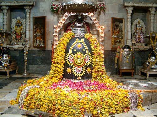 Shiva Lingam. The symbol of Shiva.