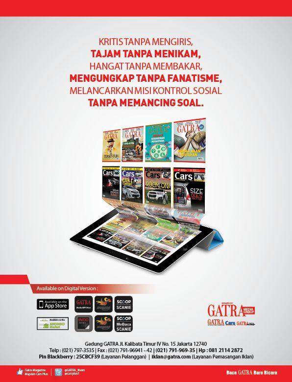 Desain Promosi: GATRA APP Store