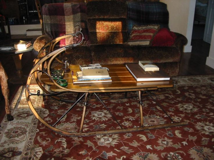 17 best images about sleighs on pinterest sled victorian and vienna Antique sleigh coffee table