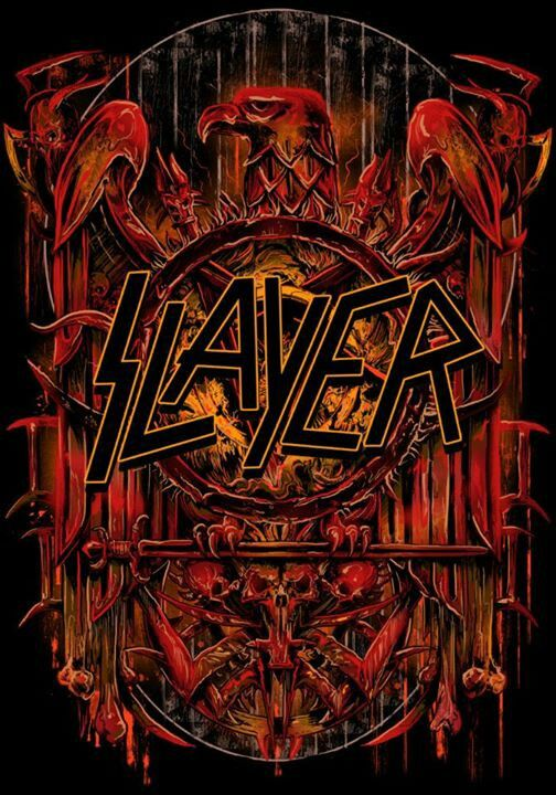 ☯☮ॐ American Hippie Classic Metal Rock Music ~ Slayer