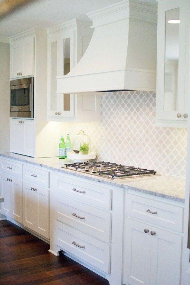 Simple And Stylish Tips And Tricks Tin Backsplash Diy Backsplash Kitchen Mo Kitchen Cabinets And Backsplash Backsplash For White Cabinets White Modern Kitchen