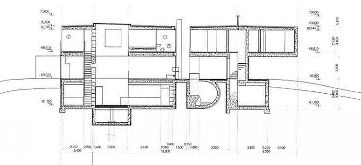 MARTIN LARIVIERE OMA - Bordeaux House Study studio Pinterest - plan architecturale de maison