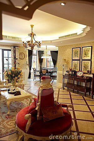 Luxury living room interior ,chongqing ,china