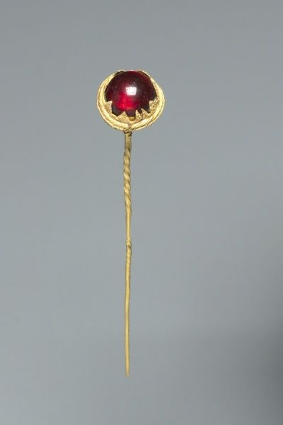 Straight Pin, c. 500 BC                                                Italy, Etruscan, late 6th Century BC