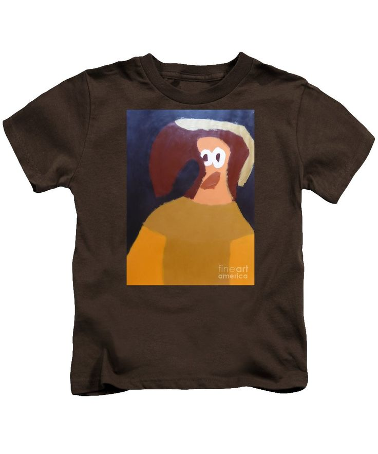Patrick Kids T-Shirt featuring the painting Portrait Of Marianna Of Austria 2015 - After Diego Velazquez by Patrick Francis