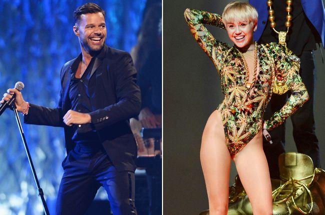 Miley Cyrus, Ricky Martin Performing on 2014 Billboard Music Awards | Billboard