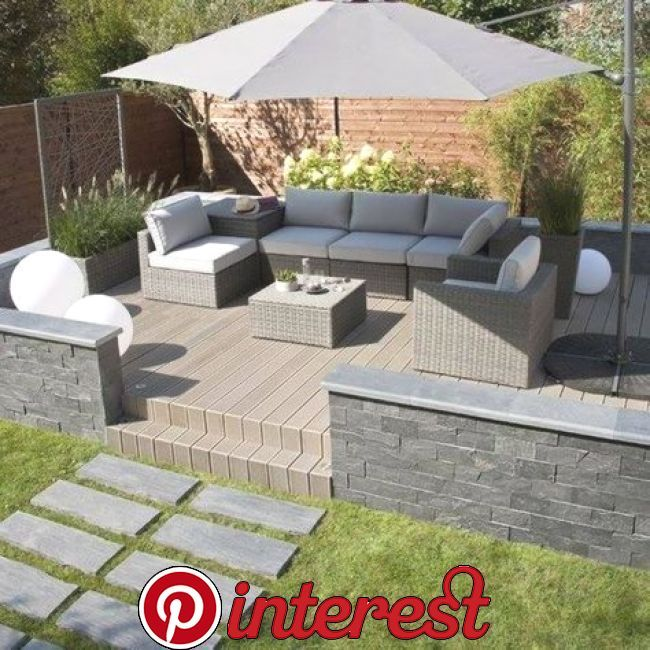 46 Cheap Garden Patio Decorating Ideas Avec Images Salon De