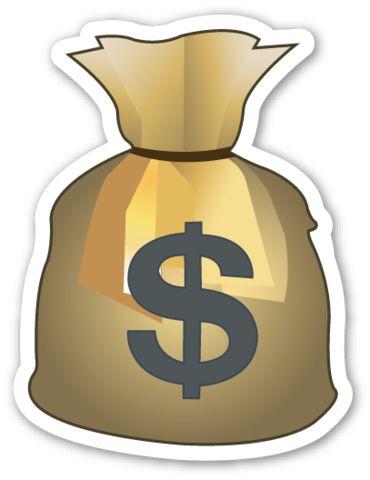 Money Bag | Emoji stickers, Emojis and Emoji X Arrow Money Bag Emoji