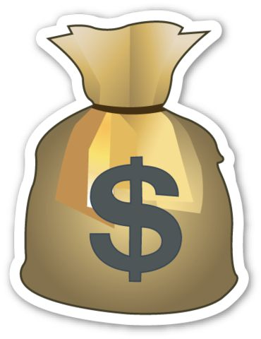 25+ best ideas about Money bag tattoo on Pinterest   Money ... X Arrow Money Bag Emoji
