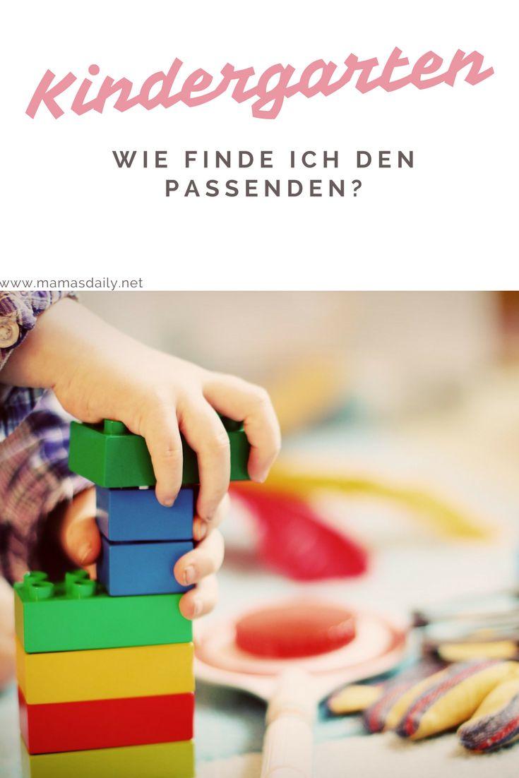 Wie finde ich den passenden Kindergarten? Wie ist das mit den Wartezeiten? Und worauf muss ich achten?