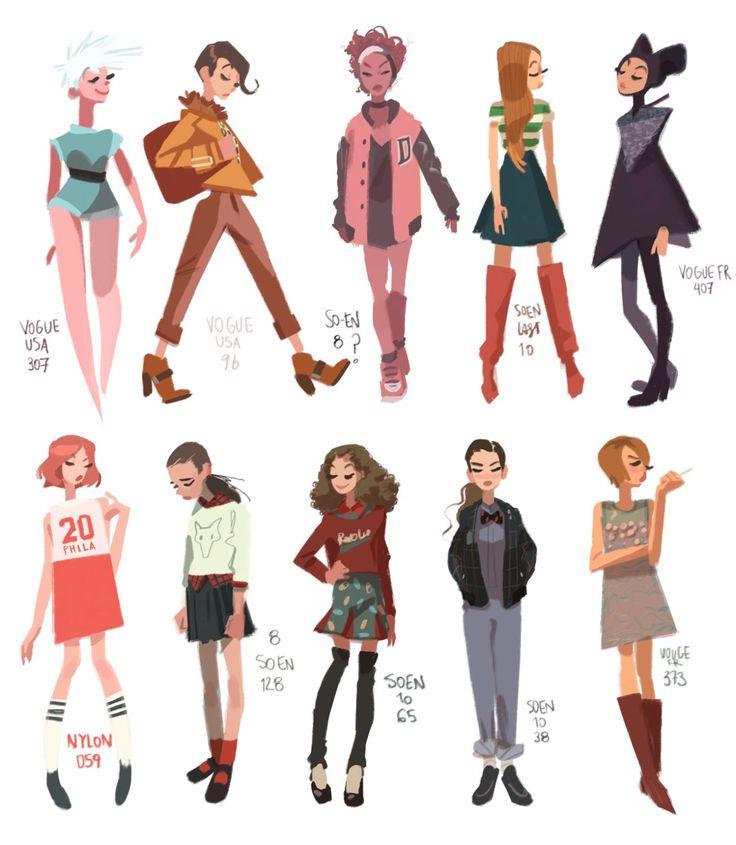 Anna Cattish — Hey! Some magazine girls today. It's kinda my way...