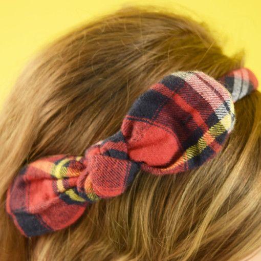 Pretty Bow in Red Headband #Colorize #ColorizeFashion