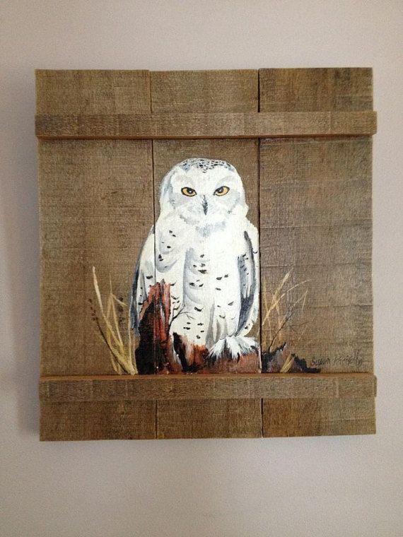 Pallet schilderij verdrietig hout kunst kunst van de door PalletPalz