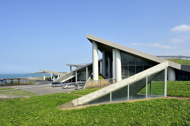 Image 1 of 11 from gallery of Baisha Wan Beach and Visitor Centre / Wang Weijen Architecture. Courtesy of Wang Weijen Architecture
