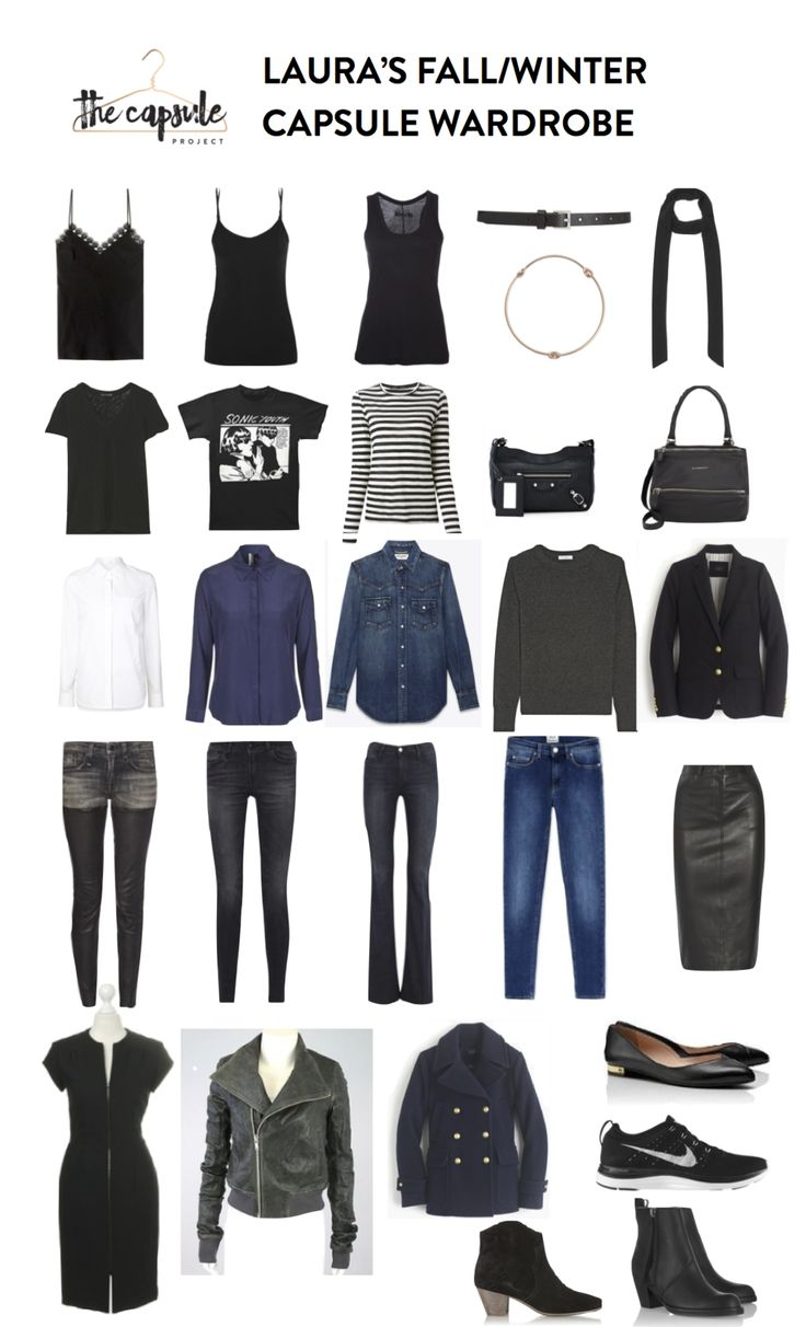 5 Tips To A Capsule Wardrobe You'll Love