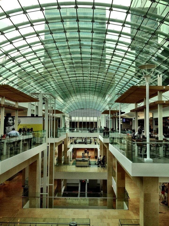 The Core Shopping Mall in Downtown Calgary
