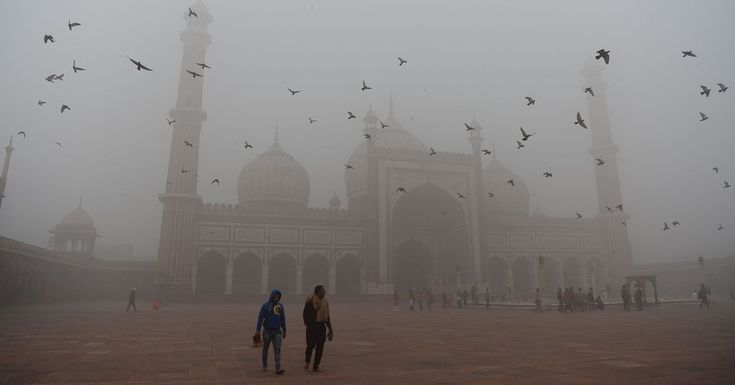 #MONSTASQUADD In India, Air So Dirty Your Head Hurts