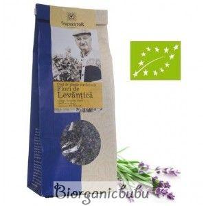 Ceai ecologic Flori de Levantica vrac, 70 g