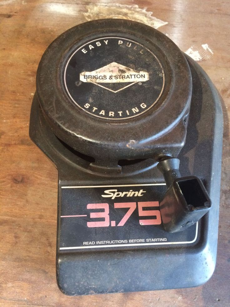 Briggs And Stratton 3 75 Hp Pull Starter Top Engine Model