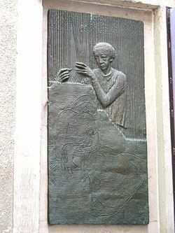 Ferenczy Noémi gobelinművész és festőművész (Fialka Olga és Ferenczy Károly lánya, ikertestvére Ferenczy Béni)