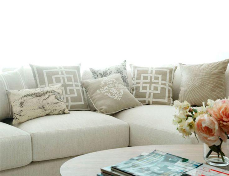 17 mejores ideas sobre cojines para sofas en pinterest - Cojines decorativos para sofas ...