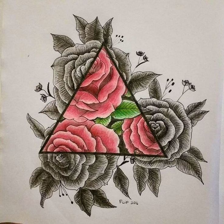 Deu vontade de tatuar ! #rose  #painter #drowing #drow #art #drow #desenho