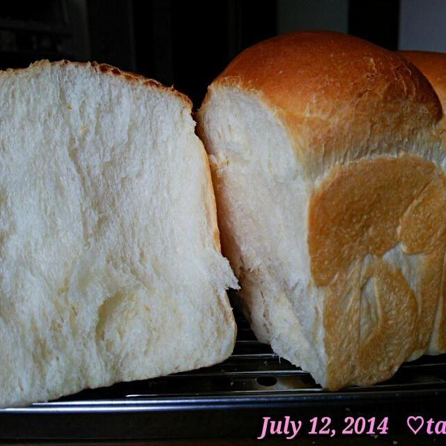 食パンもふんわりしっとり~( 〃▽〃)♡ - 109件のもぐもぐ - 本日のぉtamaパン♪自家製ヨーグルト酵母のストレート法で食パン by tototamap