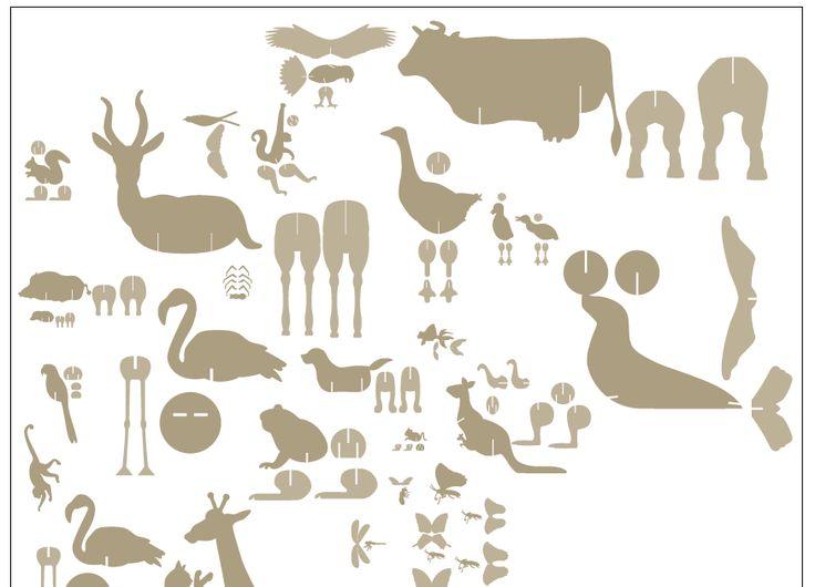 Voici les animaux que j'ai fait pour la marque pour enfants Catimini , qui vont servir au showroom de Paris, Barcelone, et aux vitrines. 1...