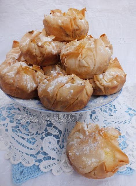 Aleda konyhája: Vargabéles muffin