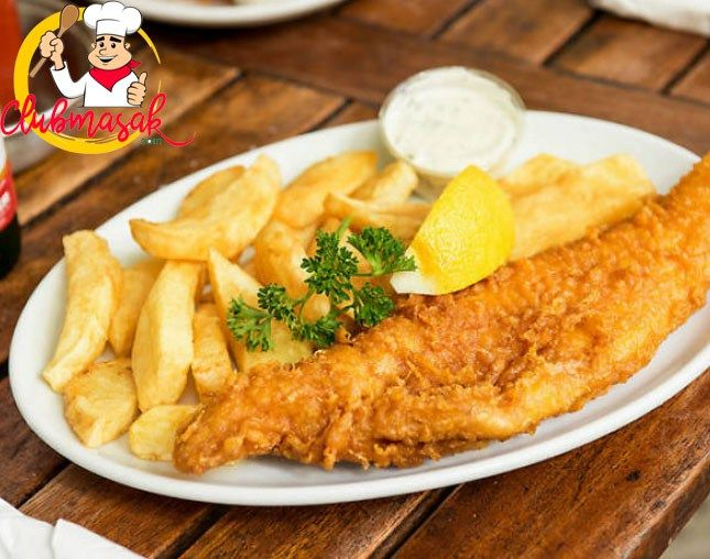 Resep Fish And Chips Ikan Dori Yang Enak Resep Fish N Chips Resep Ikan Masakan Indonesia Resep