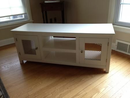white farmhouse tv stand 13 best tv stands images on media consoles 1296