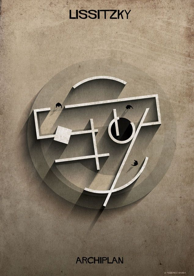 Federico Babina - Archiplan Lissitzky #Archiplan