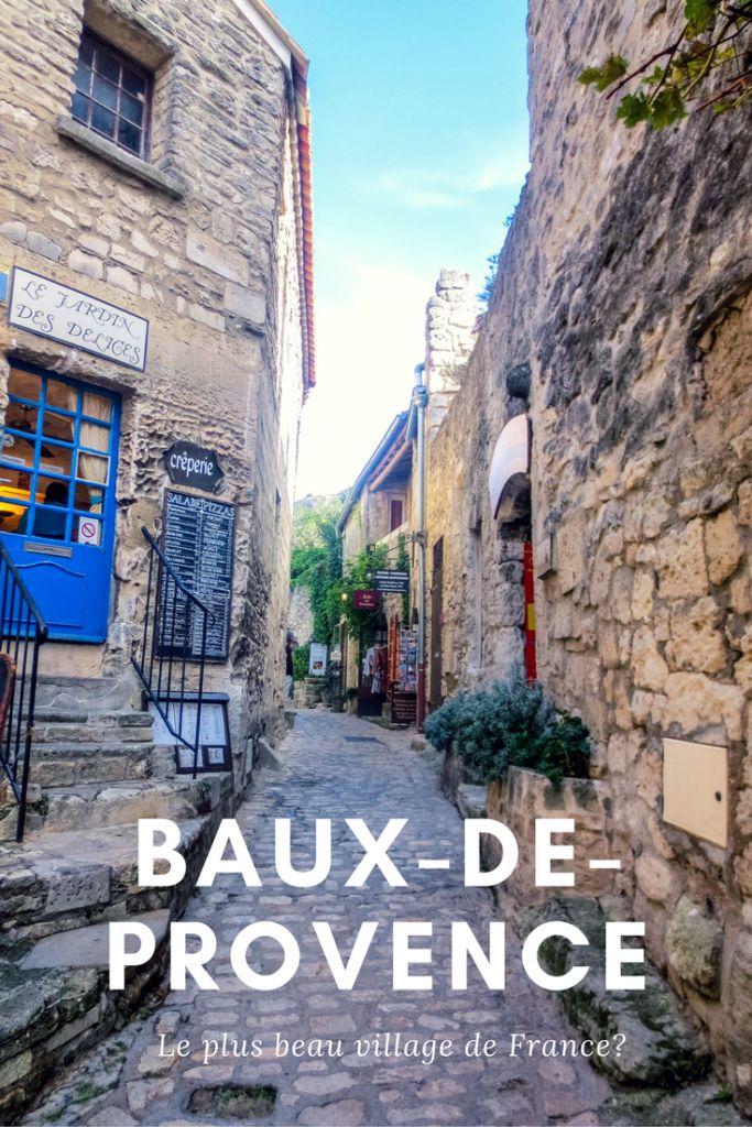 Découvrez les Baux-de-Provence, l'un des plus beaux villages de France. #France #voyage